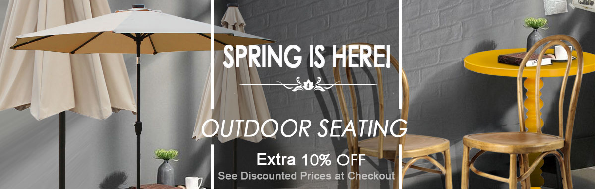 Spring Outdoor Seating