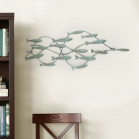 Adeco Wall Sculpture - School of Fish