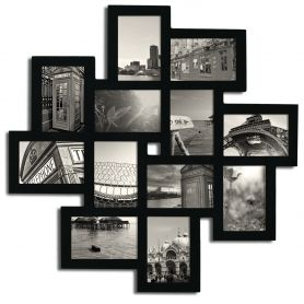 12 Opening Collage Picture Frame - Adeco - PF0206