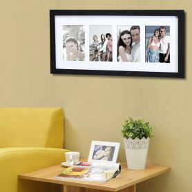 4 Opening Collage Picture Frame - Adeco - PF0426